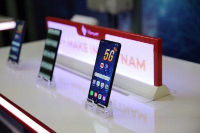 Smartphone 5G Việt Nam đầu tiên và công nghệ dẫn dắt đến tương lai.