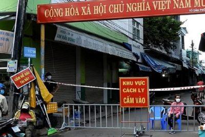 TP.Đà Nẵng: Hàng loạt vùng, tổ dân phố được thiết lập cách ly y tế.
