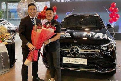 Xế hộp Mercedes-Benz tiền tỷ của Quang Hải có gì đặc biệt?