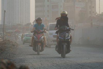 Hà Nội tái ô nhiễm không khí từ sáng nay.