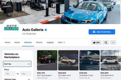 Facebook ra mắt tính năng mới hỗ trợ cho các đại lý bán ô tô.