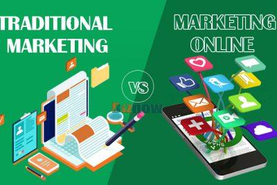 Marketing Online vs Tiếp thị truyền thống, đâu là mô hình tiếp thị cho doanh nghiệp trong tương lai