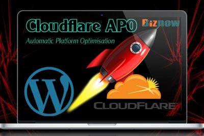 Tăng tốc website WordPress với Plugin Cloudflare APO.