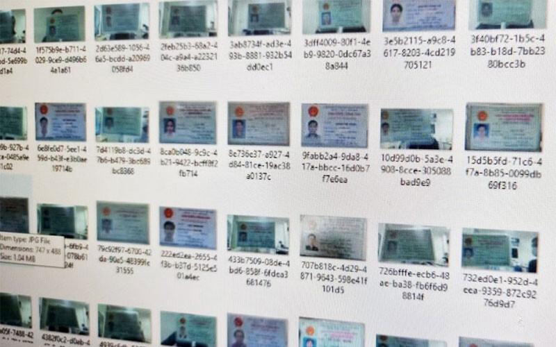 Hacker Rao Ban 17gb Du Lieu Hinh Anh Can Cuoc Cong Dan Viet Nam Voi Gia 9000 Usd