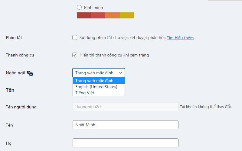 Hoc Viet Blog 2 Quan Tri Website WordPress 3