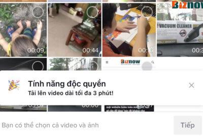 Làm thế nào để tải video 3 phút lên Tiktok, tính năng độc quyền không phải tài khoản nào cũng được sử dụng.