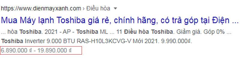 Rich Snippets Doan Ma Chi Tiet Google 1