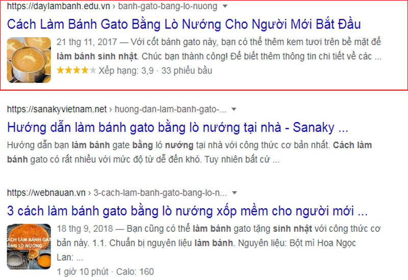 Rich Snippets Google 1